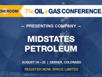 Midstates Petroleum Company Presenting at The Oil and Gas Conference