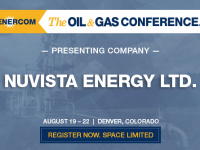 Nuvista Energy Presenting at The Oil and Gas Conference