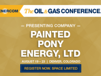 Presenting Companies at The Oil and Gas Conference: Painted Pony Energy