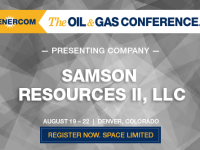 Presenting Companies at The Oil and Gas Conference: Samson Resources II