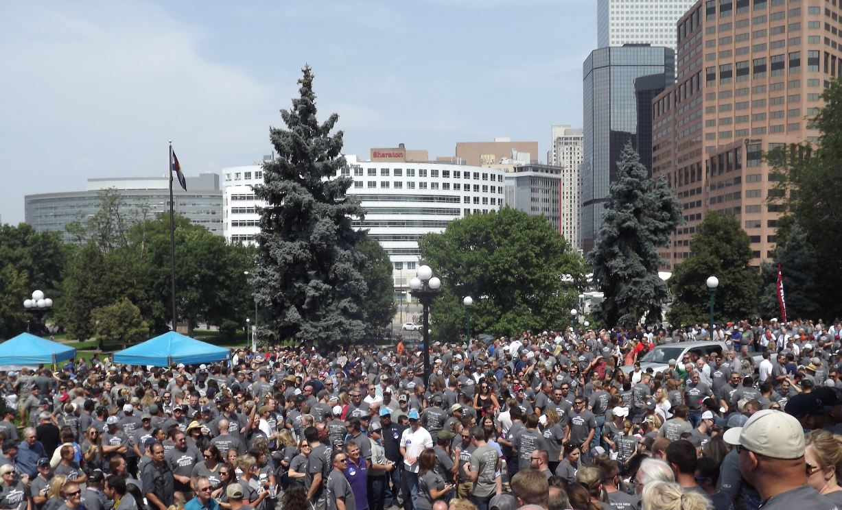 Oil and Gas Rally Fills Colorado Capitol Grounds - Oil & Gas 360