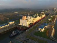 Panama Canal Handles Largest LNG Tanker to Ever Transit the Canal