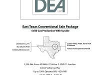 East Texas Conventional PO + ORRI