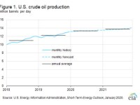 EIA forecasts U.S. crude oil production growth to slow in 2021
