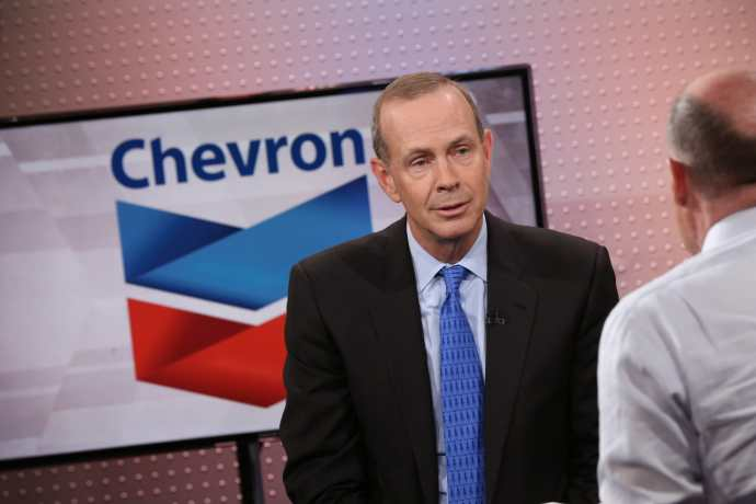 Chevron CEO Michael Wirth isn't anticipating higher oil prices because of Iran-US tensions- oil and gas 360