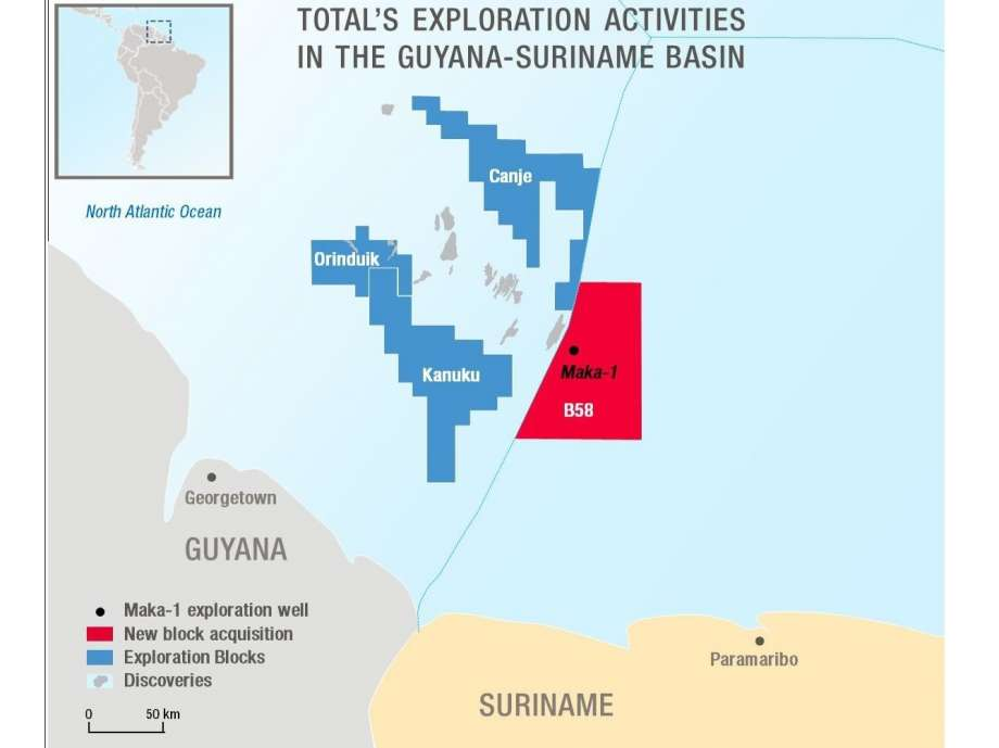 Oil firms Apache and Total make major discovery offshore Suriname