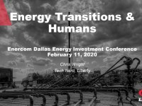 EnerCom Dallas – Energy Transitions & Humans presented by Chris Wright, Liberty Oil Field Services