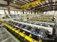 """he new Sky Global Power One power plant west of Houston in Rock Island uses new technology from General Electric that stacks together natural gas-fired generation sets. The project includes six of GE's """"J920"""