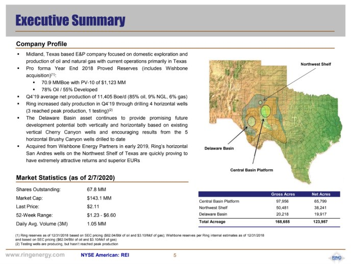 Ring Energy - EnerCom Dallas The Energy Investors Conference Corporate summary- oilandgas360