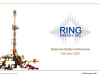 EnerCom Dallas – Ring Energy, Inc investor presentation by David Fowler, President