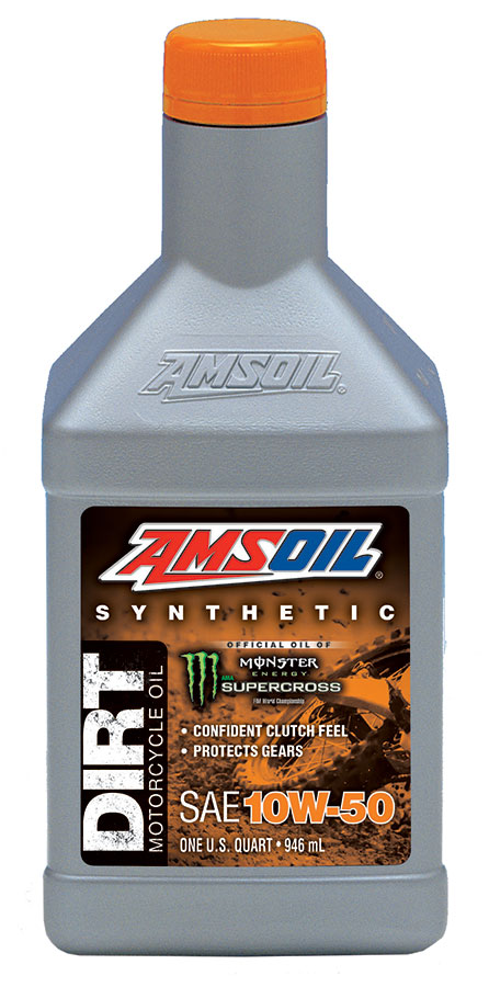 Buy AMSOIL Synthetic 10W-50 Dirt Bike Oil in Canada/USA