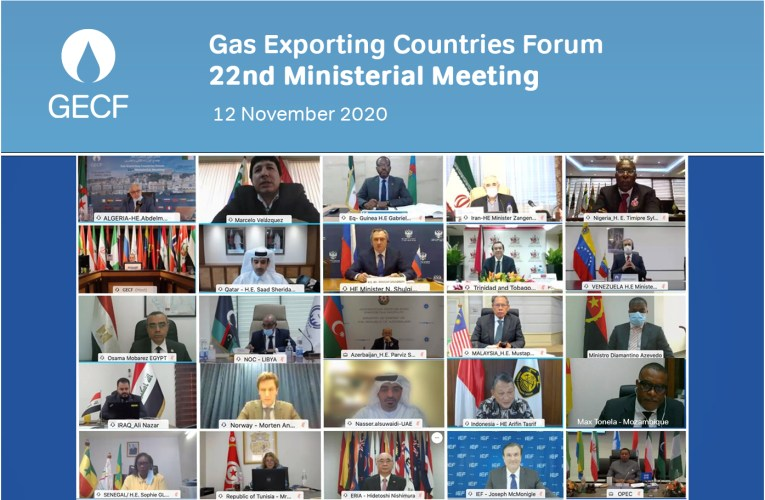 Algeria hosts the 22nd Ministerial Meeting of the Gas Exporting Countries Forum