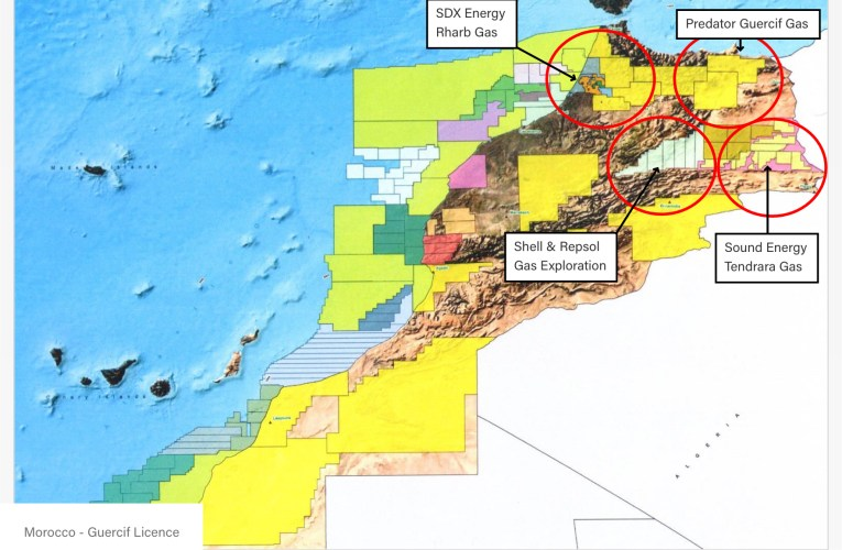 MOROCCO: Predator Oil and Gas Reports Gas Find at the MOU-1