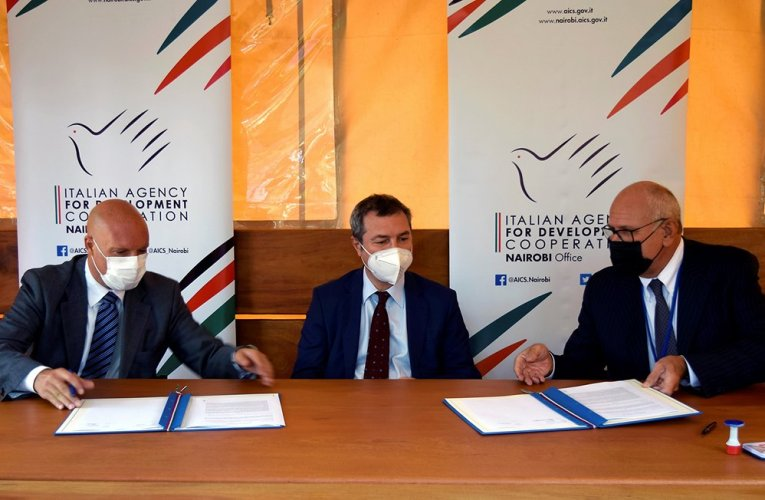 Eni, Italian Agency for Development Cooperation Nairobi Office Sign MoU to Develop Joint Initiatives in Kenya