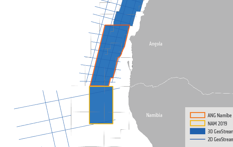 ANGOLA/NAMIBIA: PGS Delivers Continuous 3D Data Coverage of Southern Namibe Basin