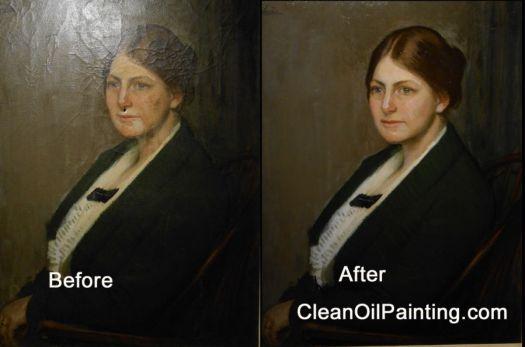 This Early Twentieth Century Oil