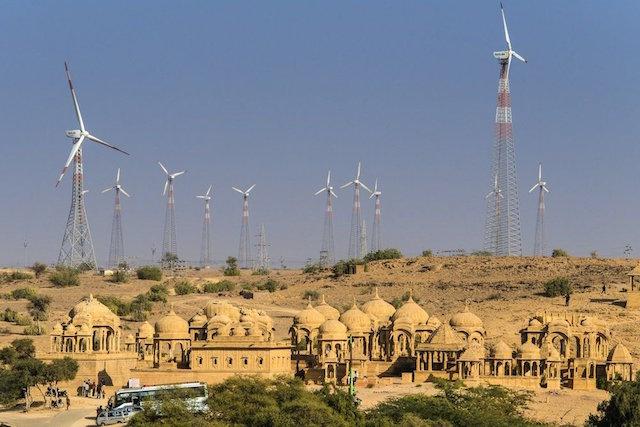 India energía renovable