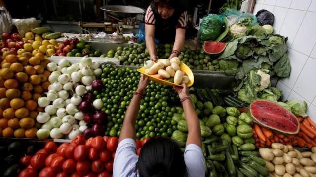 Inflación México supera rango Banxico