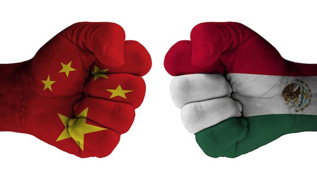 Relación México China