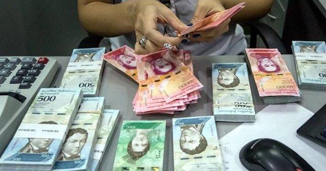 bolívares hiperinflación venezuela