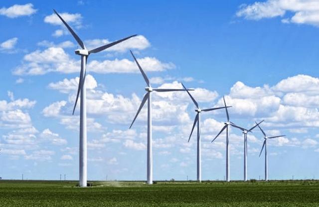 economía verde energía eólica
