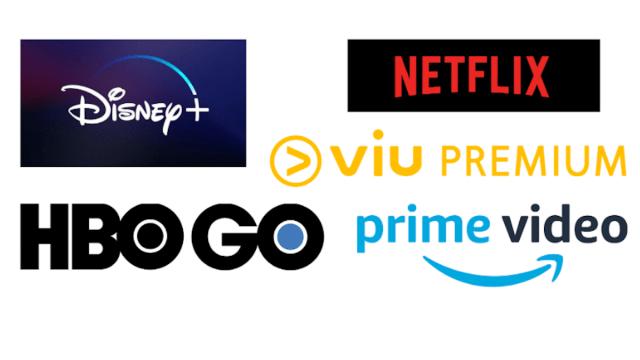 Logos de streaming