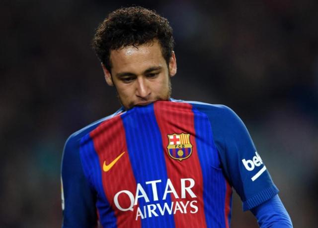Neymar en el Barca