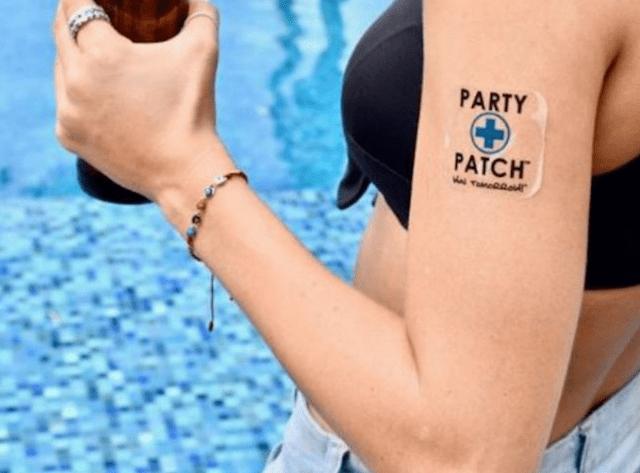 Party patch puesto