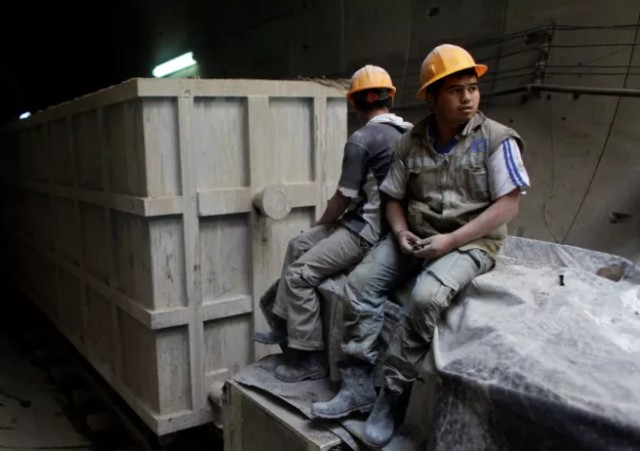 Producción industrial en México va en picada