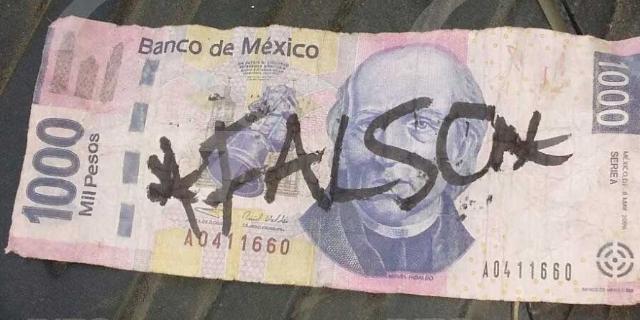 Qué hacer en caso de billetes falsos