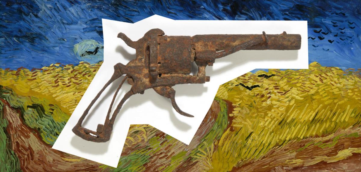 Subastan revólver con el que Van Gogh se suicidó