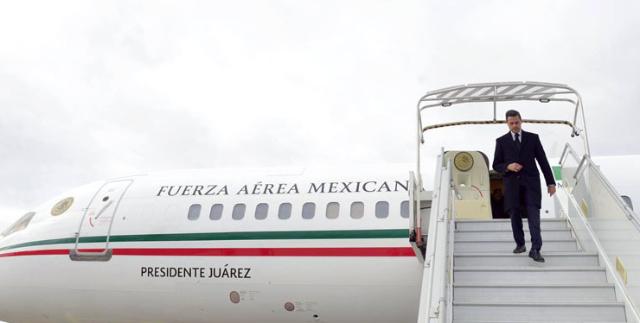 Venta del avión presidencial