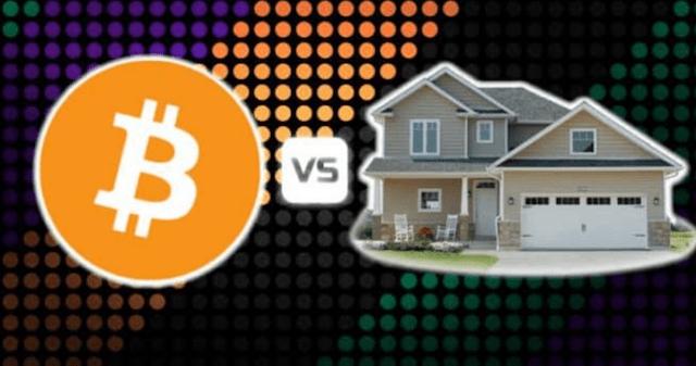 Bitcoin por casa