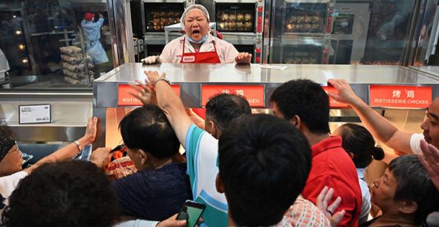 Caos por la primera tienda Costco en China
