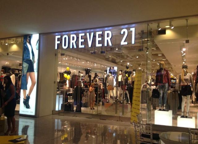 En posible bancarrota Forever 21