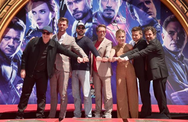 Ganancias totales de Avengers