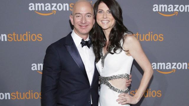 Jeff Bezos Y MacKenzie divorcio