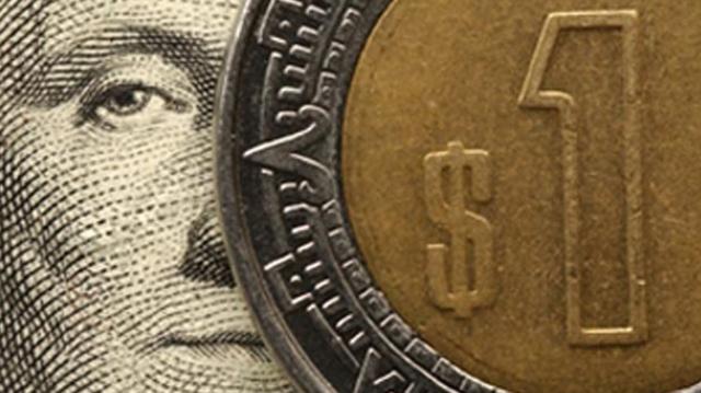 La caída del peso frente al dólar