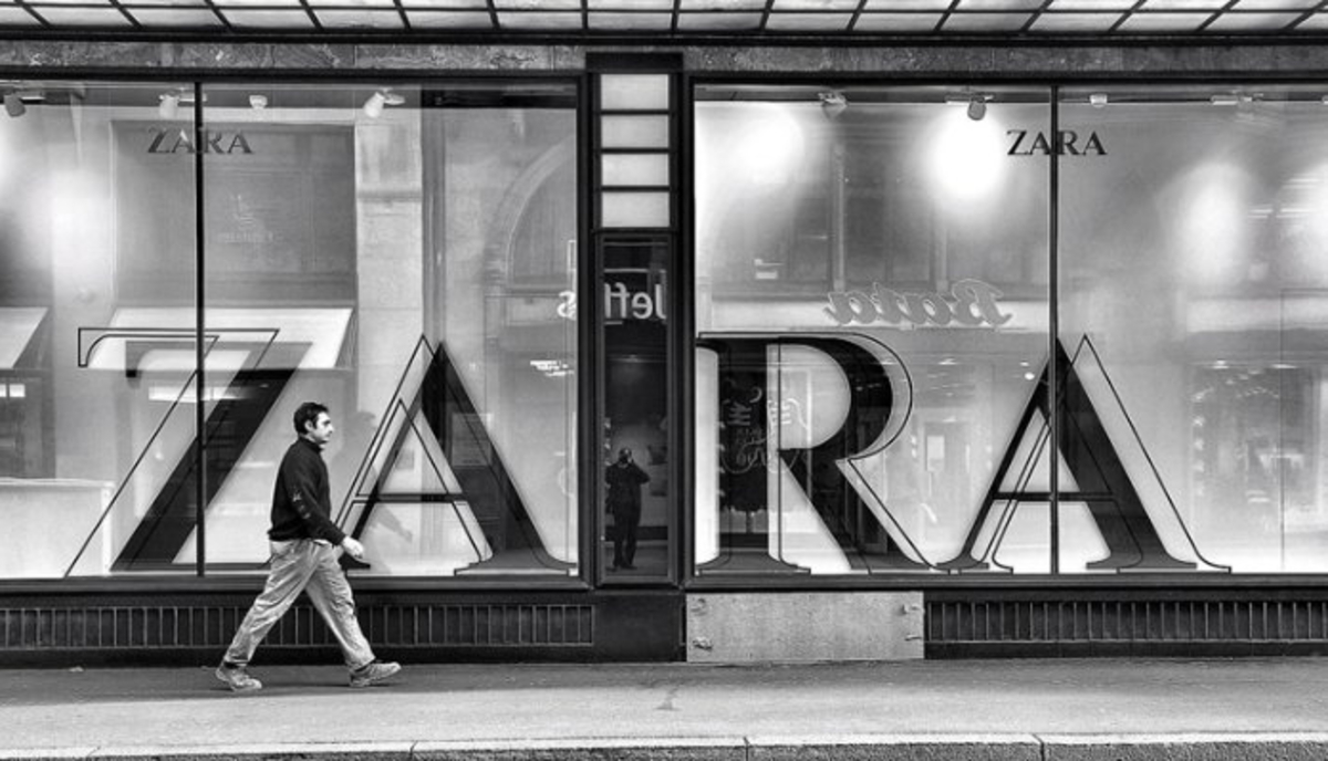 Origen de la marca Zara