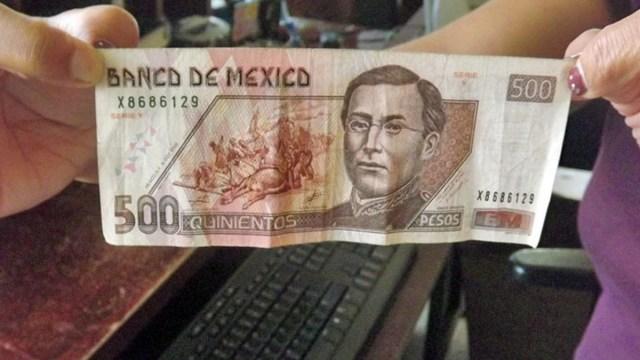 que hacer con un billete falso