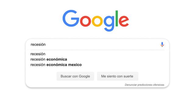 Busqueda de recesión en México