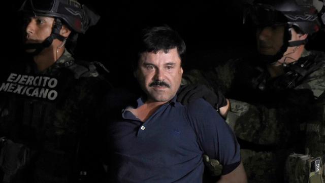 Chapo Guzmán captura