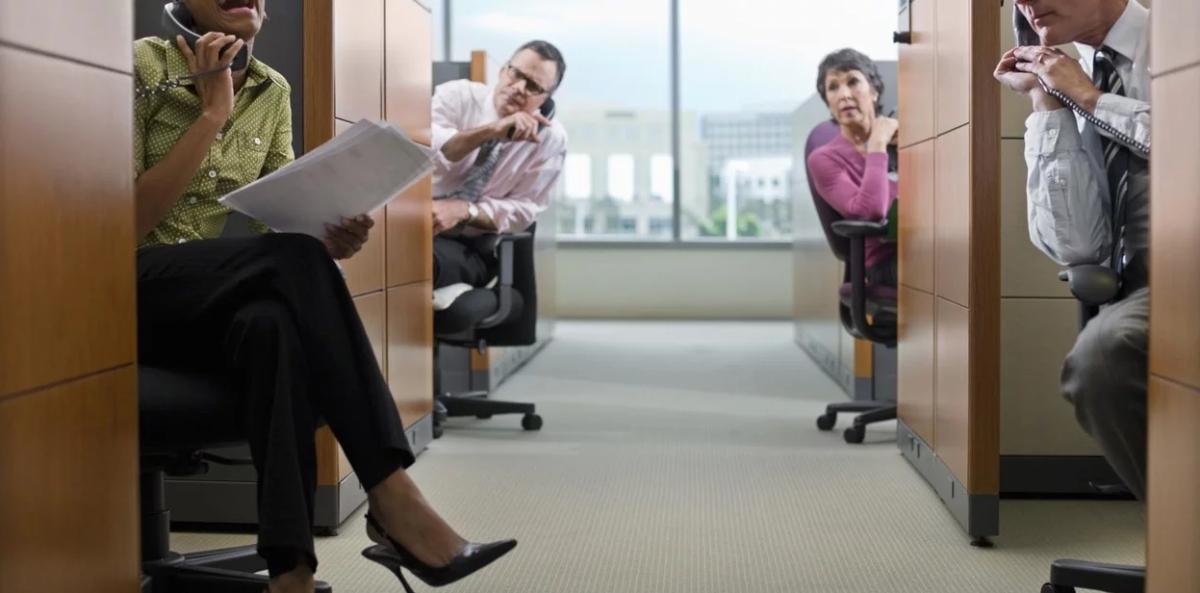 Problemas ocasionados por el ruido de la oficina