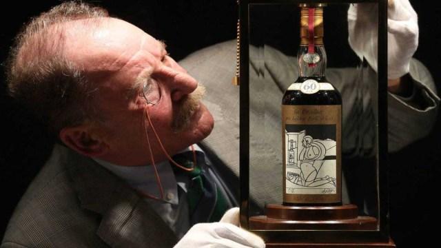 La botella de whisky más cara del mundo