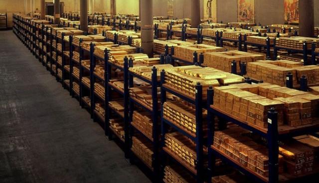 Reservas mexicanas de oro