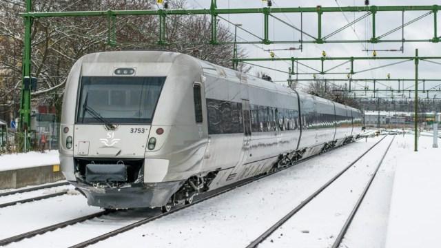 Imagen: Estación de trenes en Suecia, 18 de octubre de 2019 (Imagen: Especial)