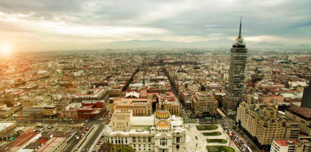 Imagen: Vista área del Centro de la Ciudad de México, 21 de octubre de 2019 (Imagen: Especial)