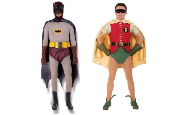 29 noviembre 2019, Personajes, disfraces, trajes, Batman, Robin.