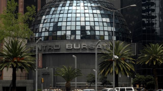 Alza de la Bolsa Mexicana de Valores