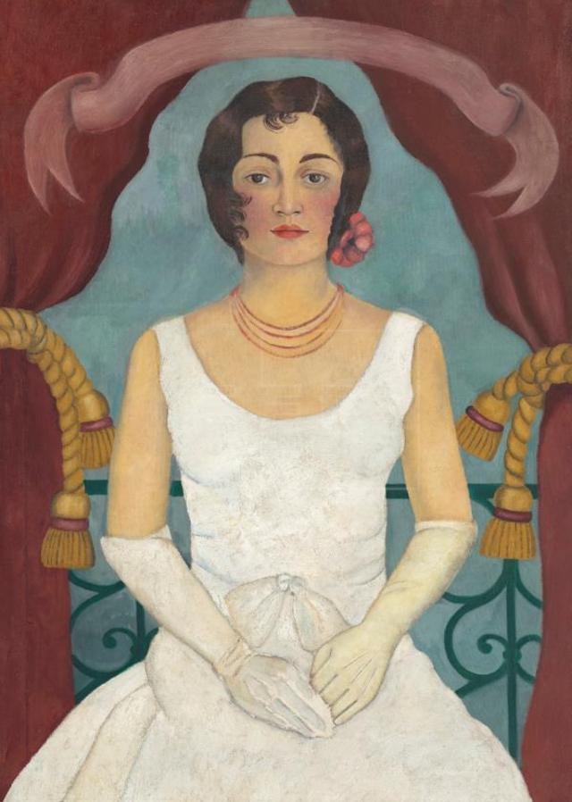 La dama de blanco